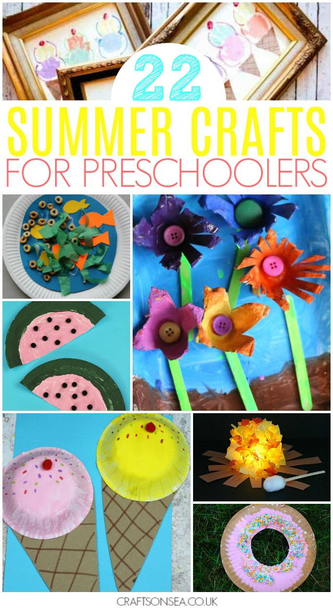 Best ideas about Easy Summer Crafts For Preschoolers . Save or Pin 40 Super Fun Summer Activities for Preschoolers Crafts Now.