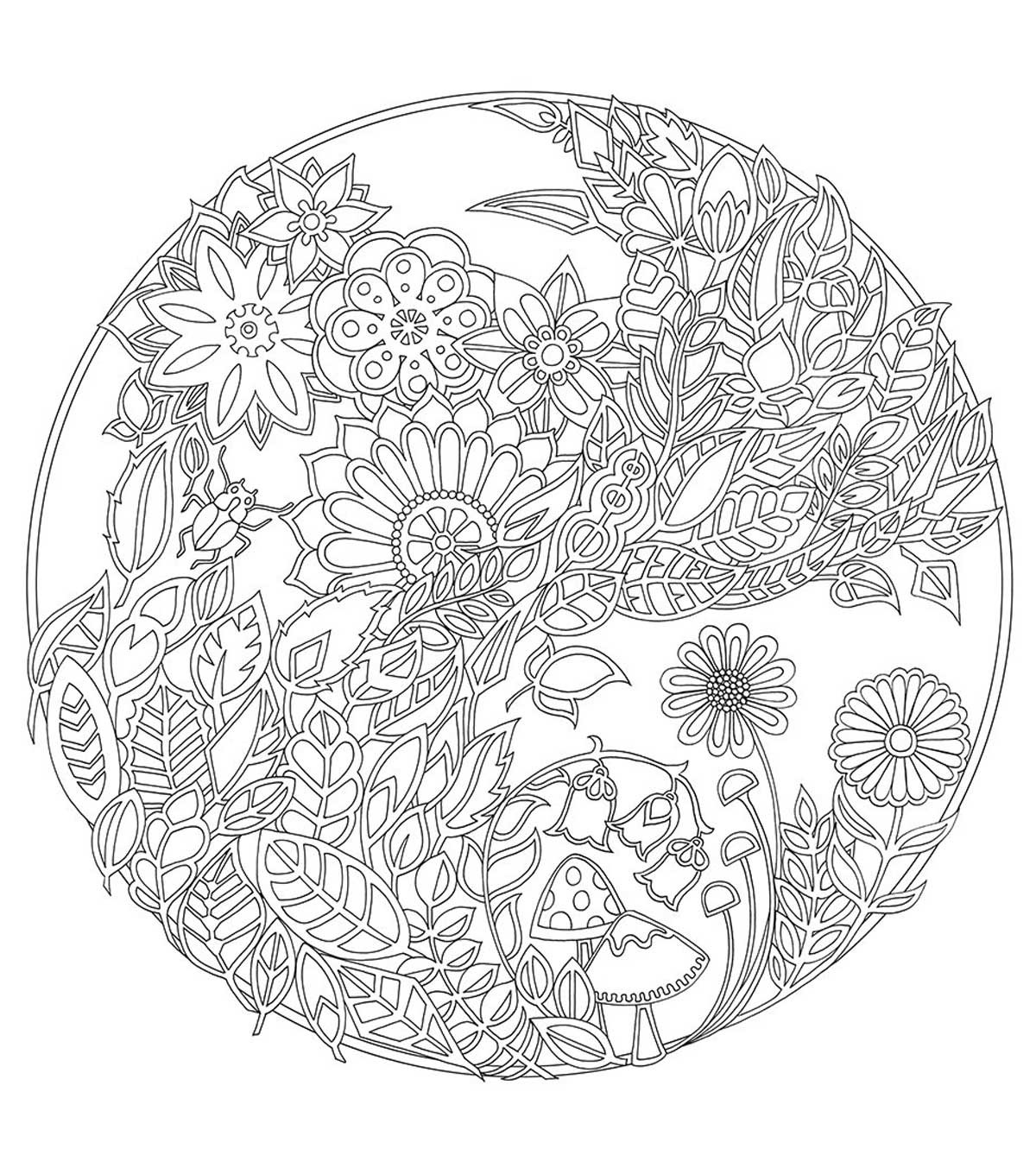 Best ideas about Enchanted Forest Coloring Sheets For Kids . Save or Pin Chronicle Books Enchanted Forest Coloring Book JoAnn Now.