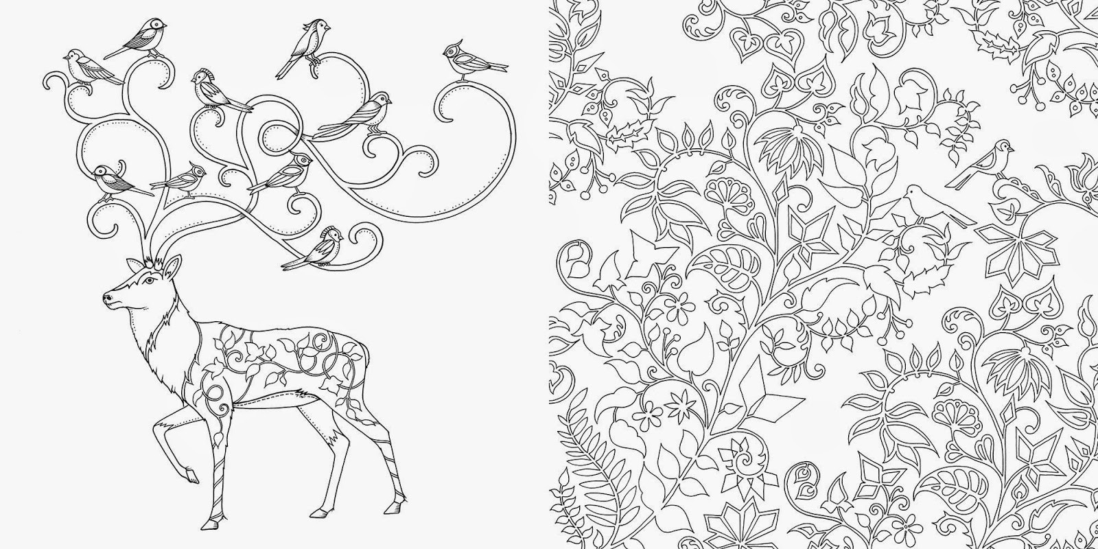 Best ideas about Enchanted Forest Coloring Sheets For Kids . Save or Pin SurLaLune Fairy Tales Blog Art Thursday Enchanted Forest Now.