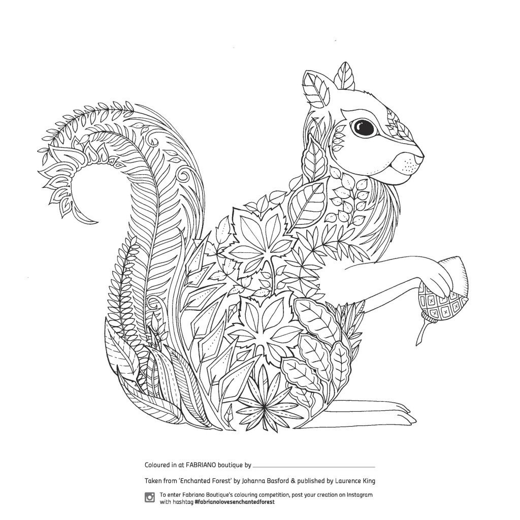 Best ideas about Enchanted Forest Coloring Sheets For Kids . Save or Pin Enchanted Forest Colouring petition at Fabriano Now.