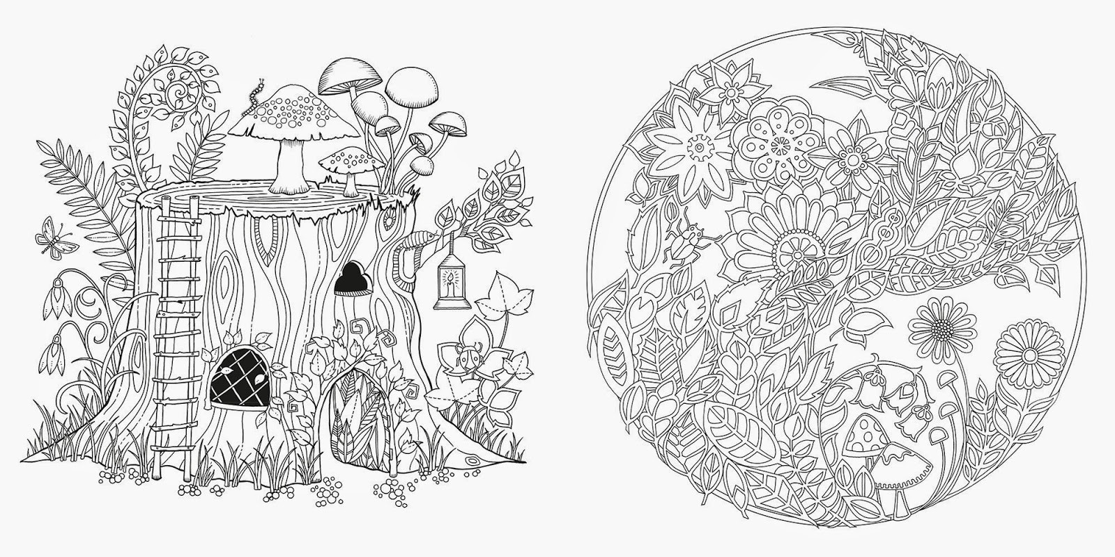 Best ideas about Enchanted Forest Coloring Sheets For Kids . Save or Pin Heidi Anne Heiner s Blog Art Thursday Enchanted Forest Now.