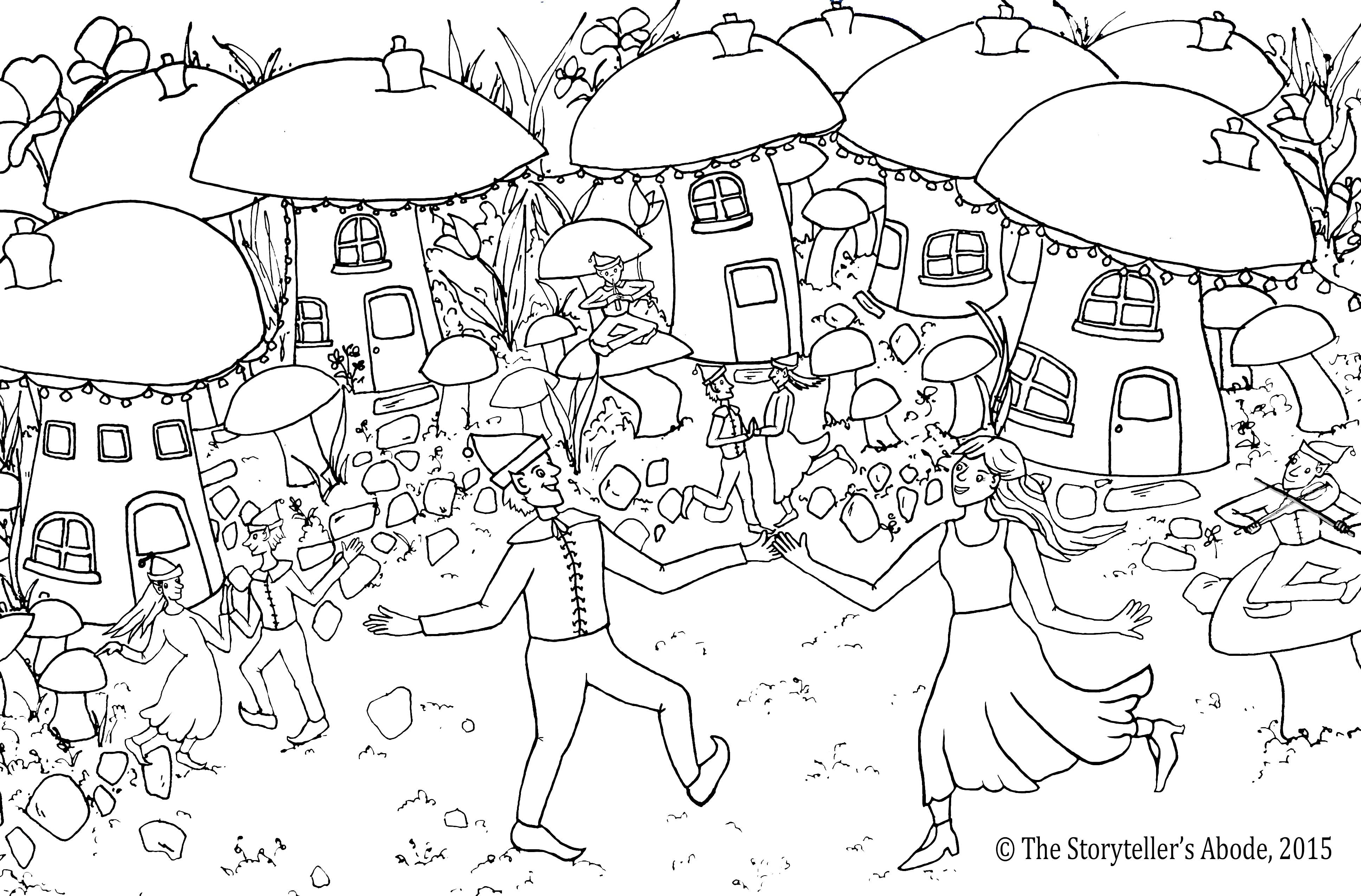 Best ideas about Enchanted Forest Coloring Sheets For Kids . Save or Pin Enchanted Forest Colouring – An Enchanted Place Now.