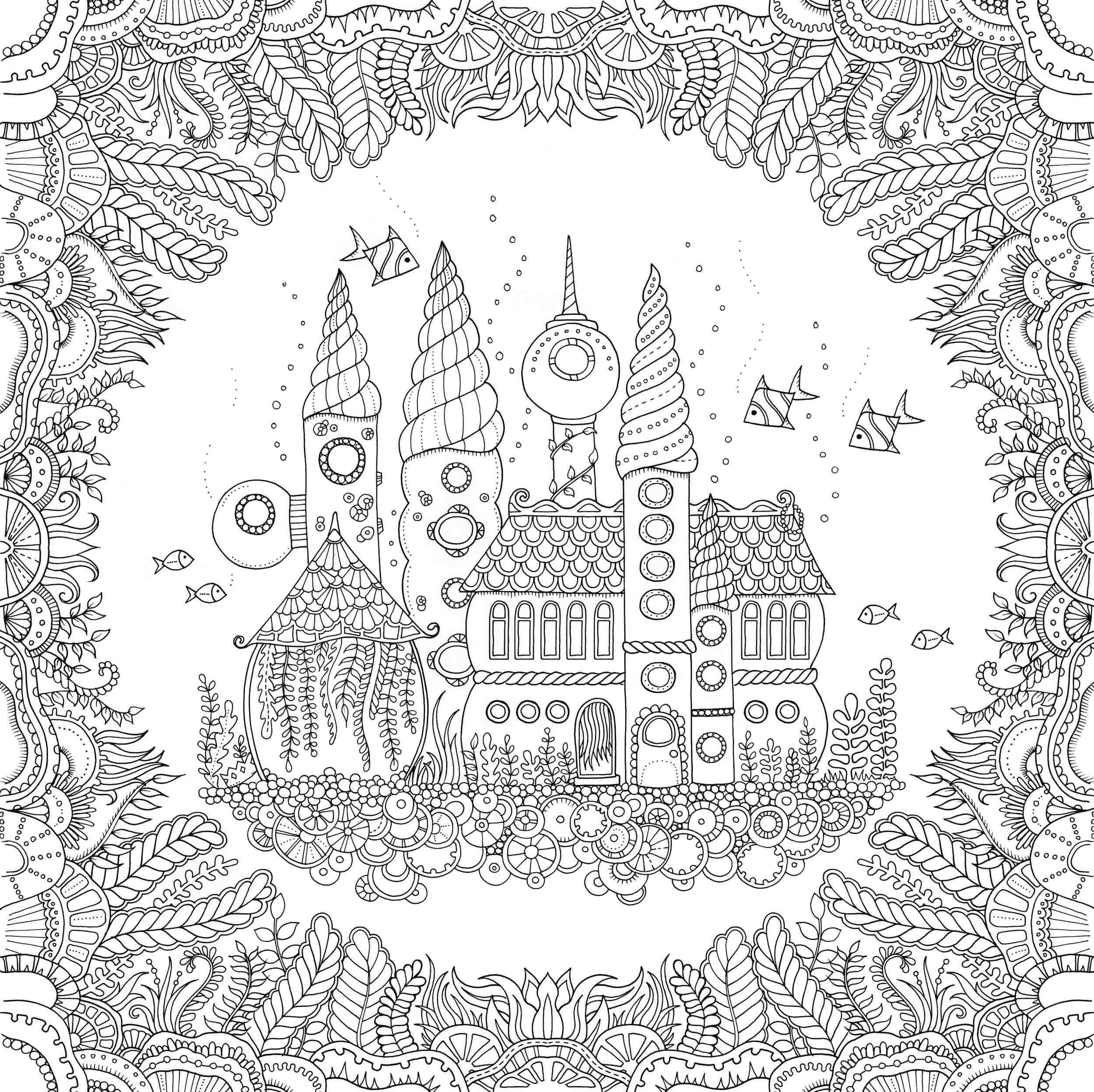 Best ideas about Enchanted Forest Coloring Sheets For Kids . Save or Pin Enchanted Forest Coloring Book Pages Now.