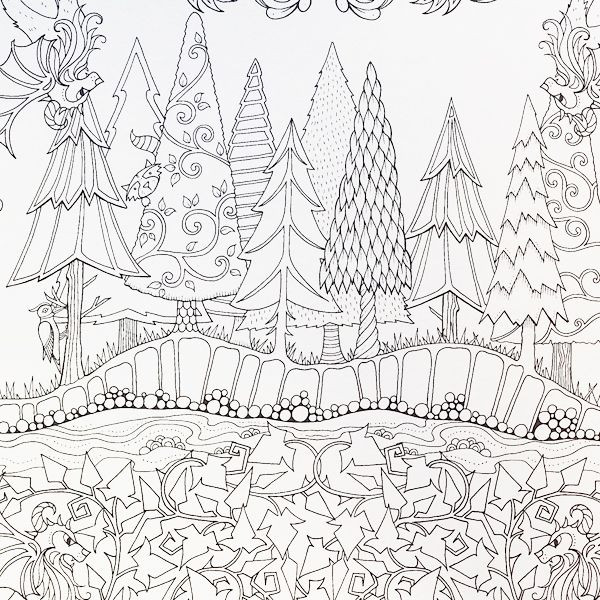 Best ideas about Enchanted Forest Coloring Sheets For Kids . Save or Pin Artist Johanna Basford Enchanted Forest Coloring pages Now.