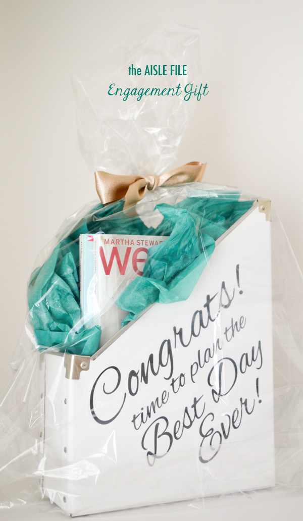 Best ideas about Engagement Gift Ideas For Couple . Save or Pin DIY Project Engagement Gift Bin Now.