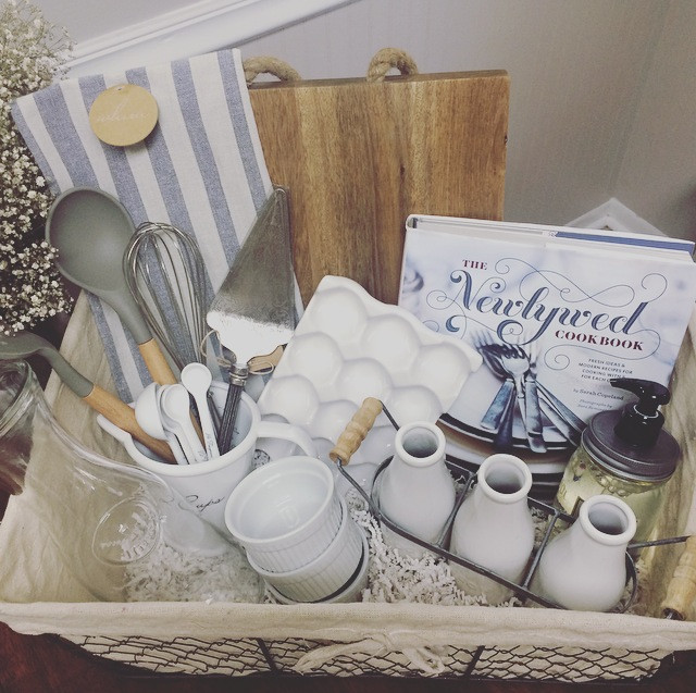 Best ideas about Engagement Gift Ideas For Couple . Save or Pin A DIY Wedding Gift Basket Now.