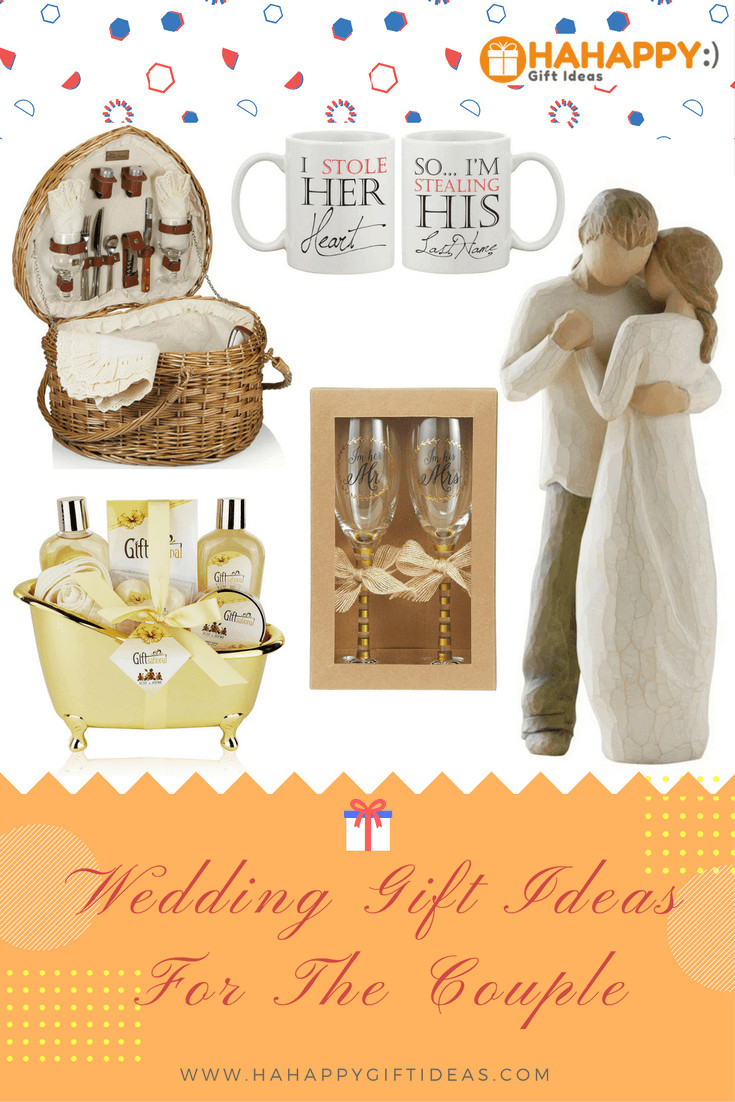 Best ideas about Engagement Gift Ideas For Couple . Save or Pin 13 Special & Unique Wedding Gifts for Couples Now.