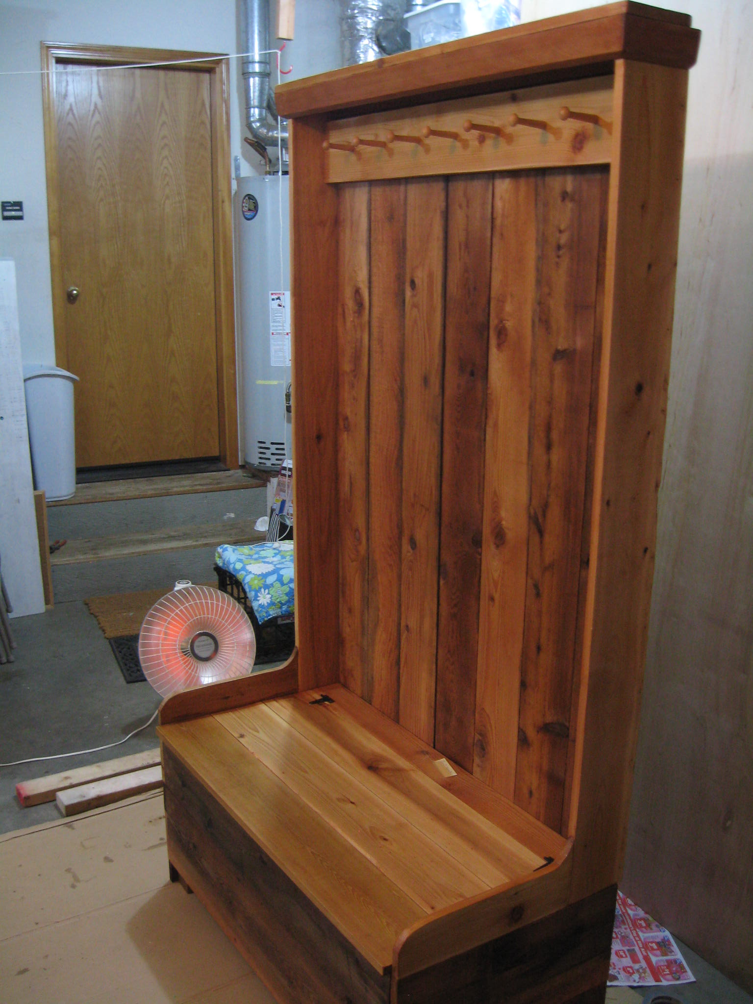 Best ideas about Entryway Bench With Hooks . Save or Pin Rustic Entryway Coat Rack And Bench — STABBEDINBACK Foyer Now.