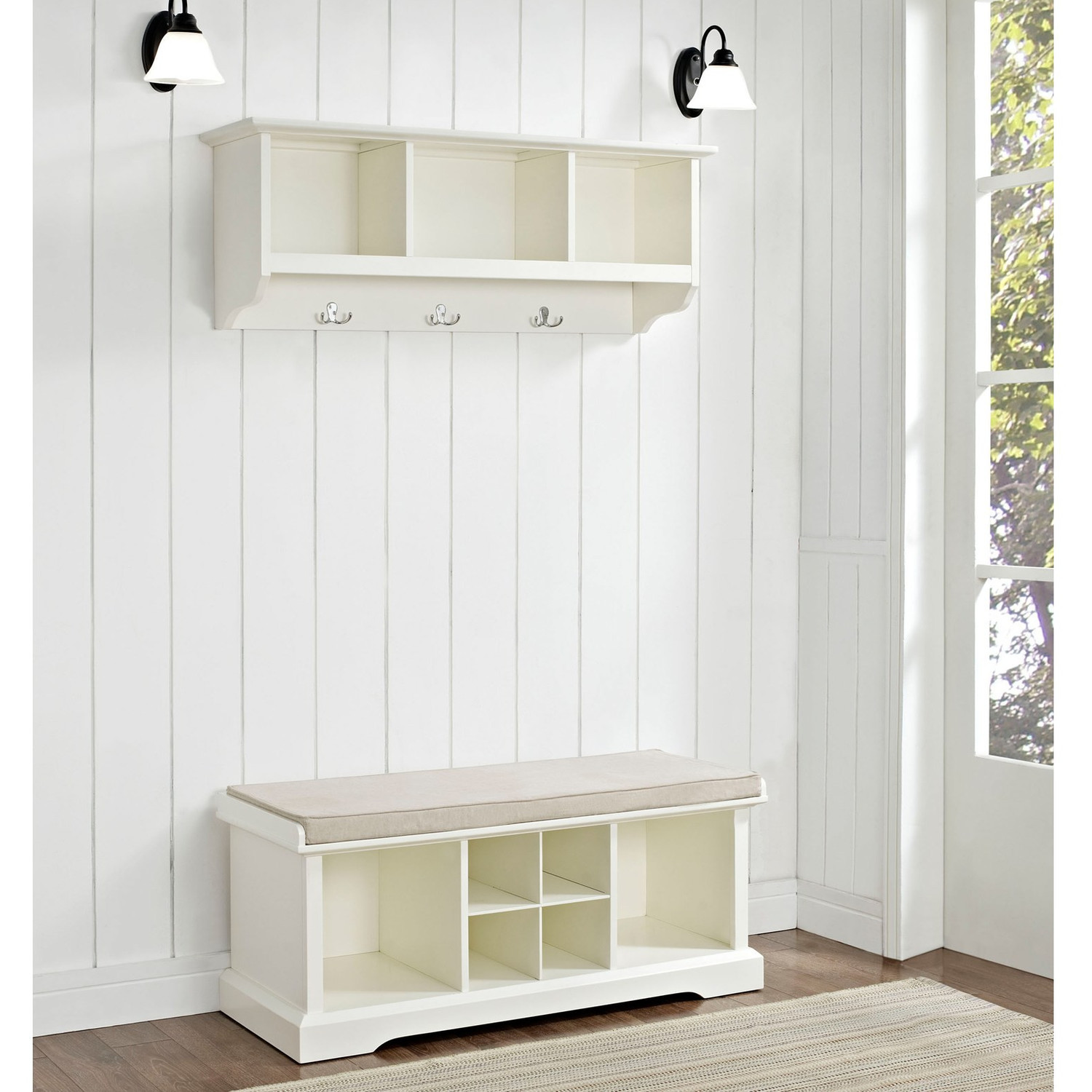 Best ideas about Entryway Bench With Hooks . Save or Pin Entryway Bench With Storage And Hooks Best — STABBEDINBACK Now.