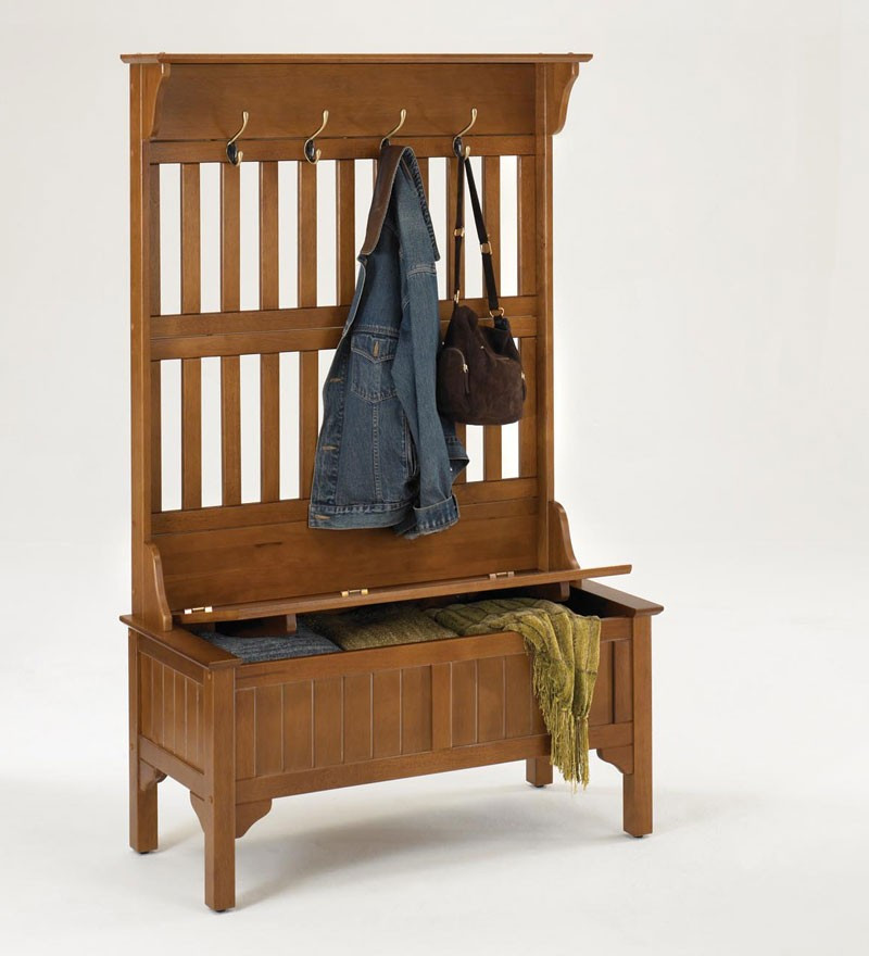 Best ideas about Entryway Bench With Hooks . Save or Pin DIY Entryway Bench with Hooks Now.