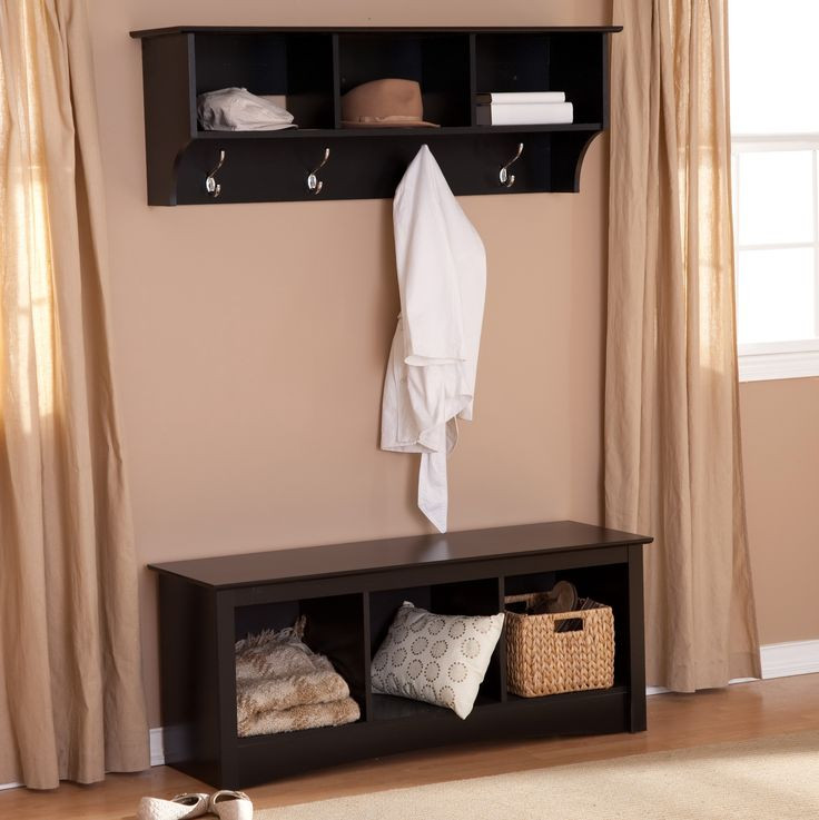 Best ideas about Entryway Bench With Hooks . Save or Pin Bench Coat Rack Entryway Tradingbasis Now.