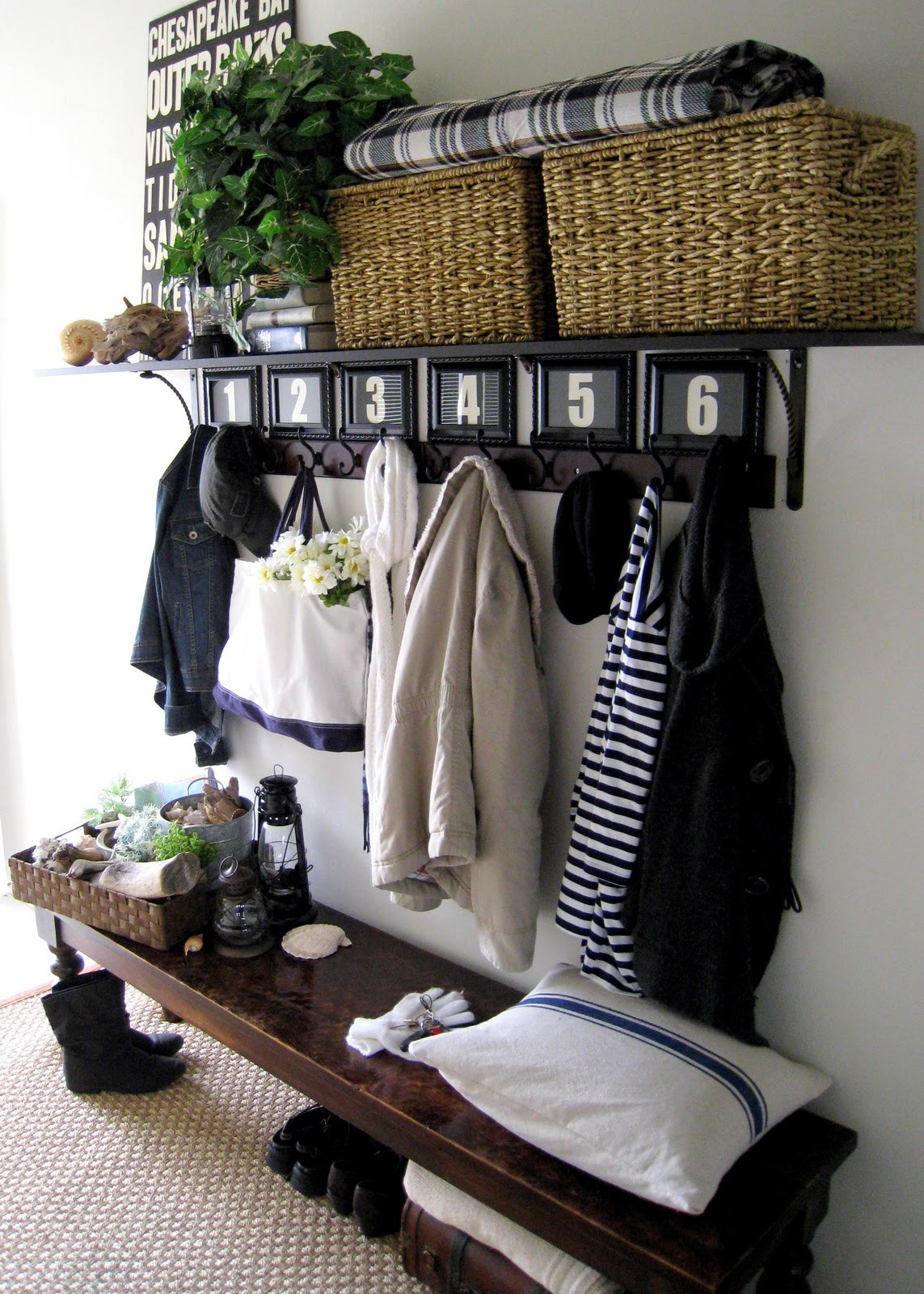 Best ideas about Entryway Bench With Hooks . Save or Pin 50 Entryway Bench Design Ideas to Try in Your Home Now.