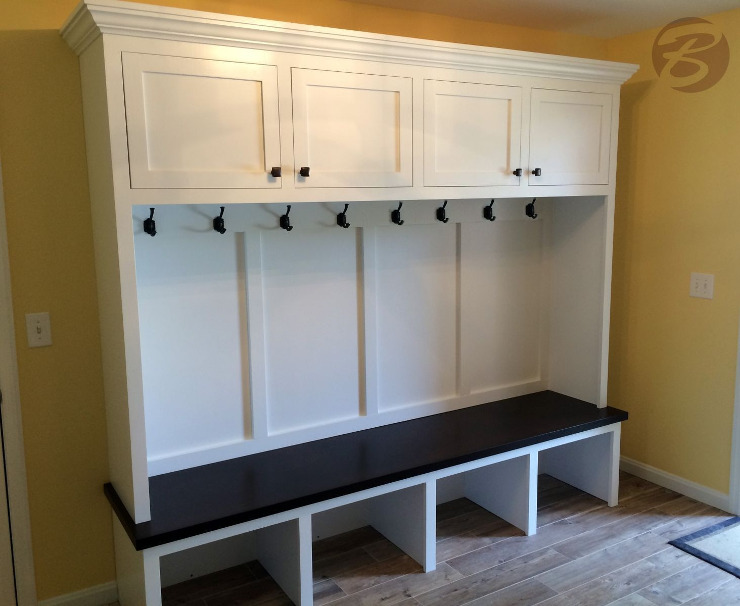 Best ideas about Entryway Bench With Hooks . Save or Pin Entryway Bench With Storage And Hooks Now.