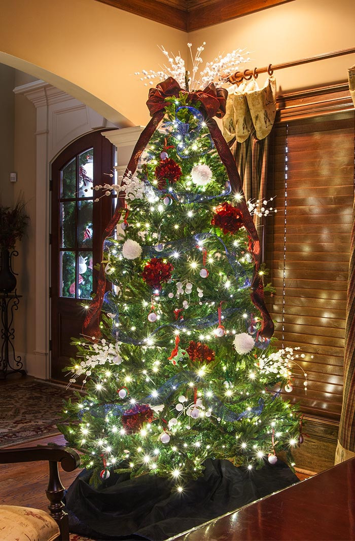Best ideas about Entryway Christmas Tree . Save or Pin Christmas Tree Ideas Now.