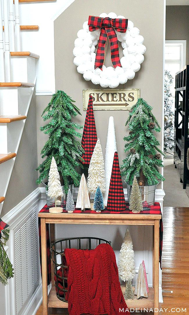 Best ideas about Entryway Christmas Tree . Save or Pin Entryway Christmas Tree Trees P Pre Lit Porch – TheChowDown Now.