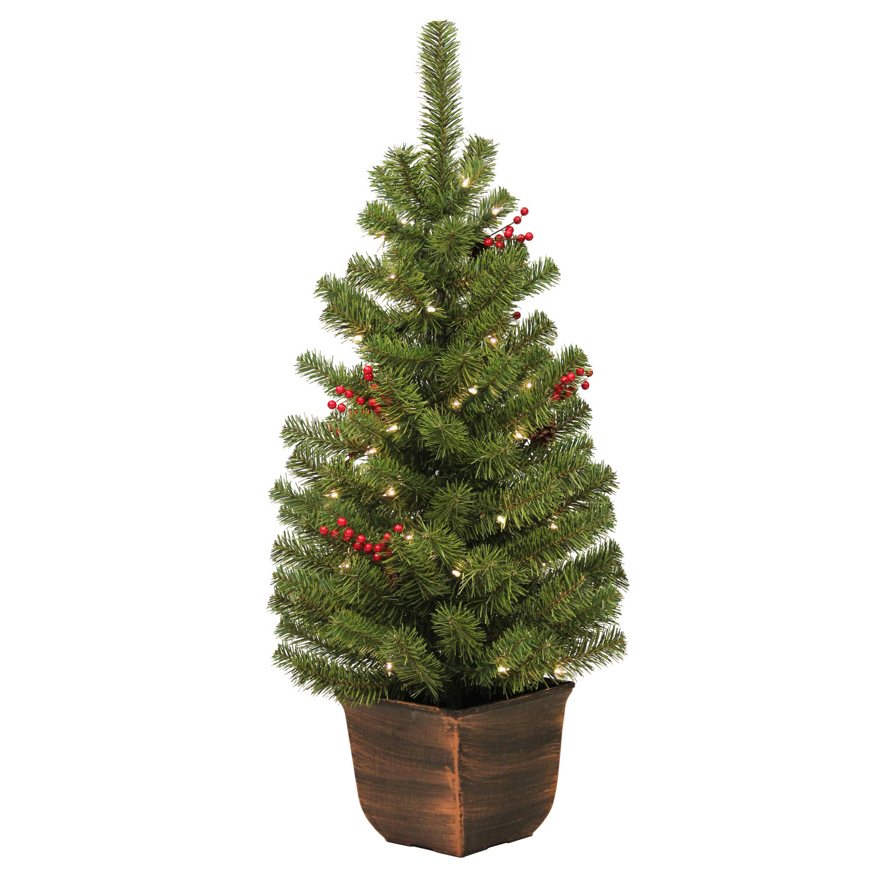 Best ideas about Entryway Christmas Tree . Save or Pin General Foam Plastics 4 Vernon Entryway Green Artificial Now.
