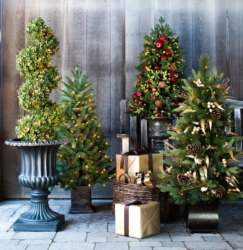 Best ideas about Entryway Christmas Tree . Save or Pin Captivating Winter Entryways with Balsam Hill Now.