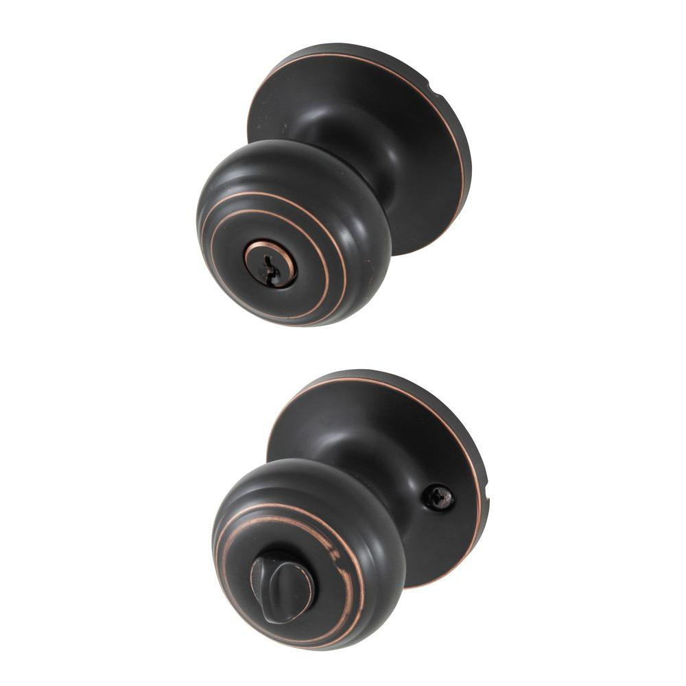 Best ideas about Entryway Door Knobs . Save or Pin Honeywell Classic Oil Rubbed Bronze Entry Door Knob Now.