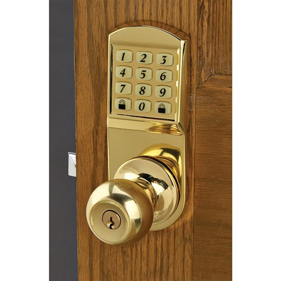 Best ideas about Entryway Door Knobs . Save or Pin Door Knob Keyless Entry System at Sportsman s Guide Now.