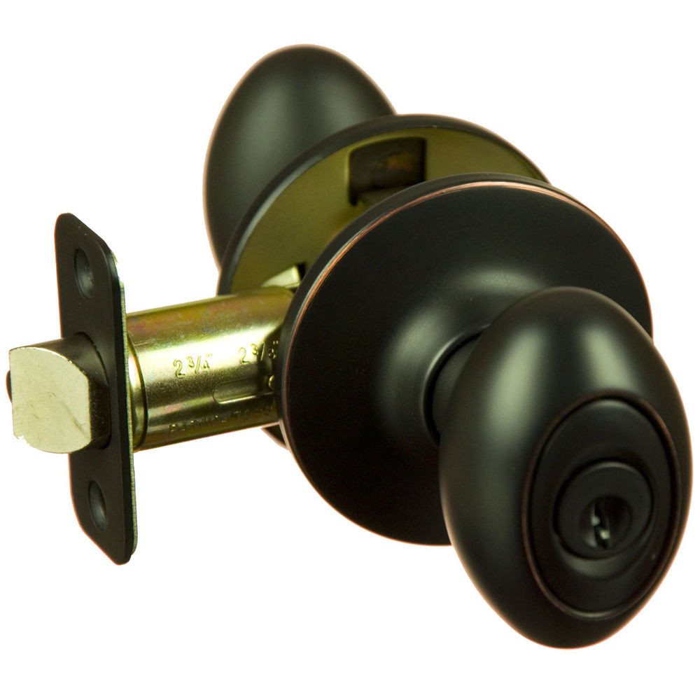 Best ideas about Entryway Door Knobs . Save or Pin Hensley Oil Rubbed Bronze Keyed Entry Egg Door Knob Front Now.