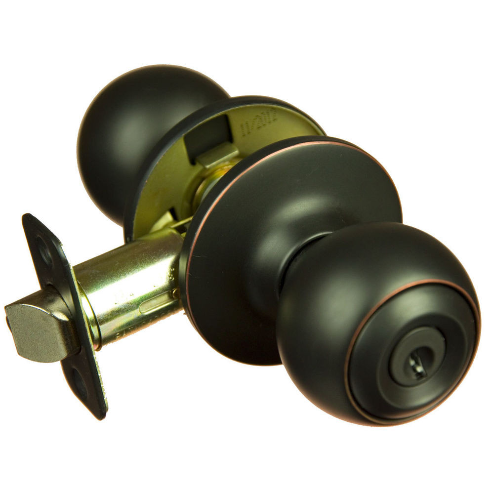 Best ideas about Entryway Door Knobs . Save or Pin Piedmont Oil Rubbed Bronze Keyed Entry Door Knob Now.