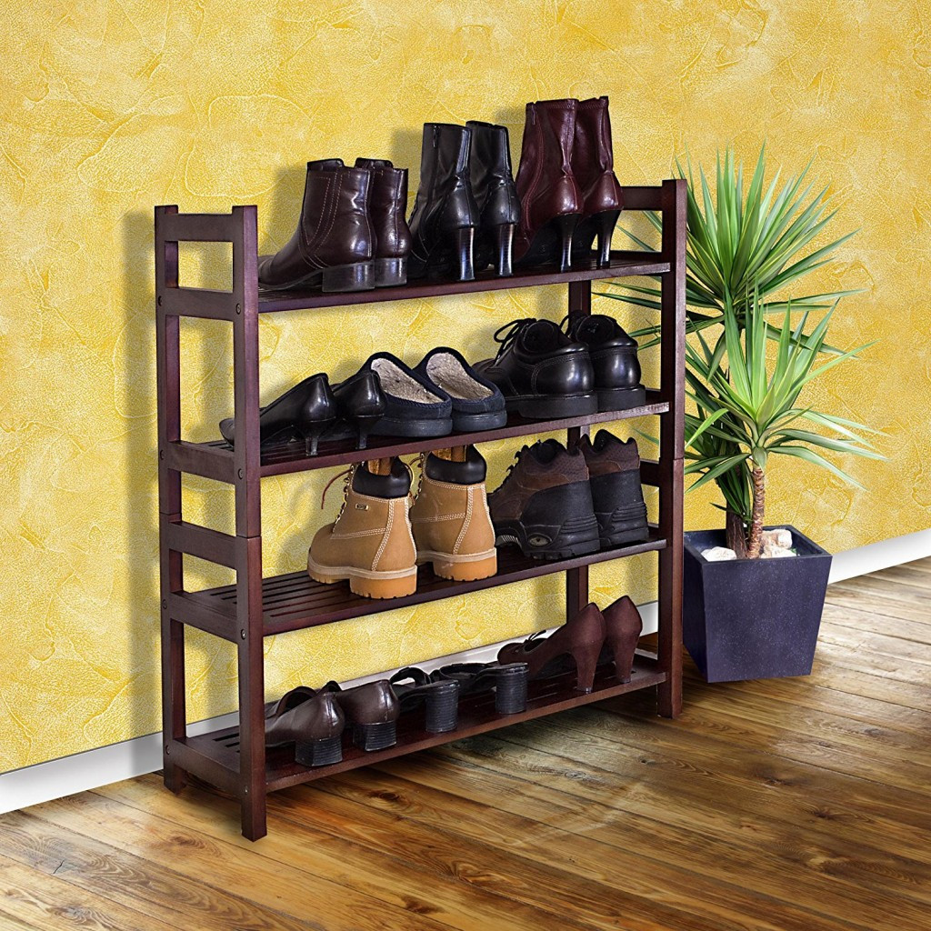 Best ideas about Entryway Shoe Rack . Save or Pin Floor Entryway Shoe Rack — STABBEDINBACK Foyer Entryway Now.