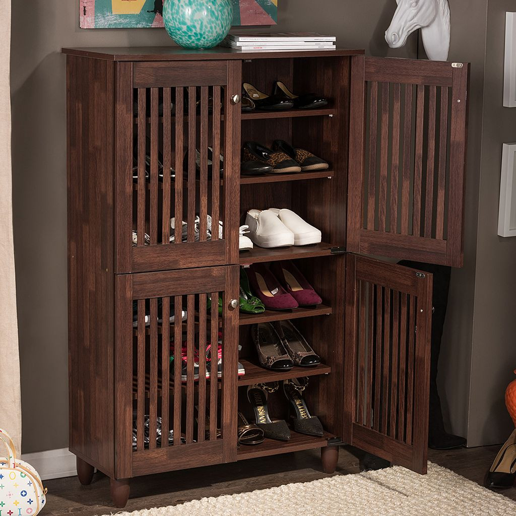 Best ideas about Entryway Shoe Rack . Save or Pin Entryway Shoe Storage Hutch — Home Design Entryway Shoe Now.