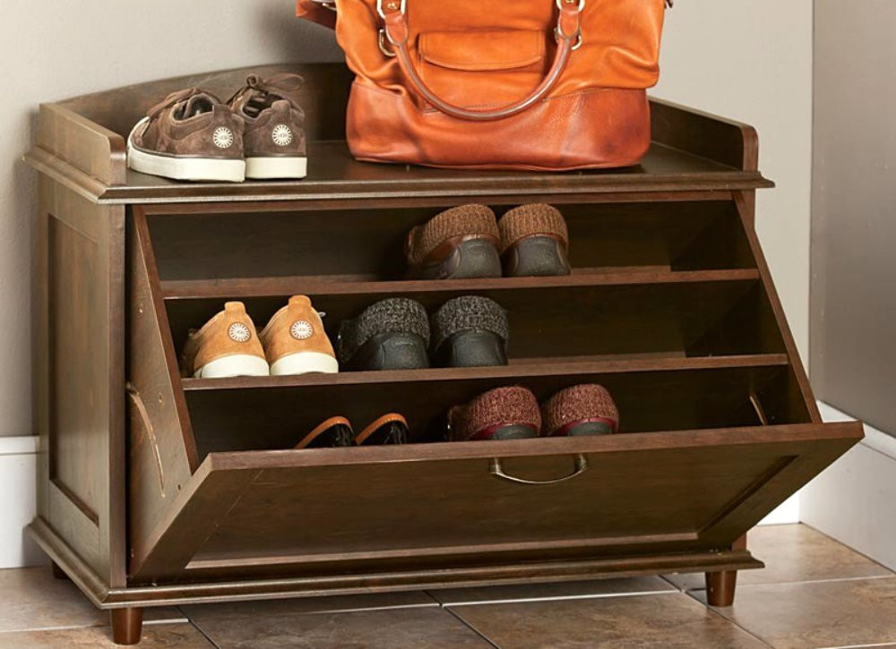 Best ideas about Entryway Shoe Rack . Save or Pin Entryway Ideas 7 Essentials for an Organized Foyer Bob Now.