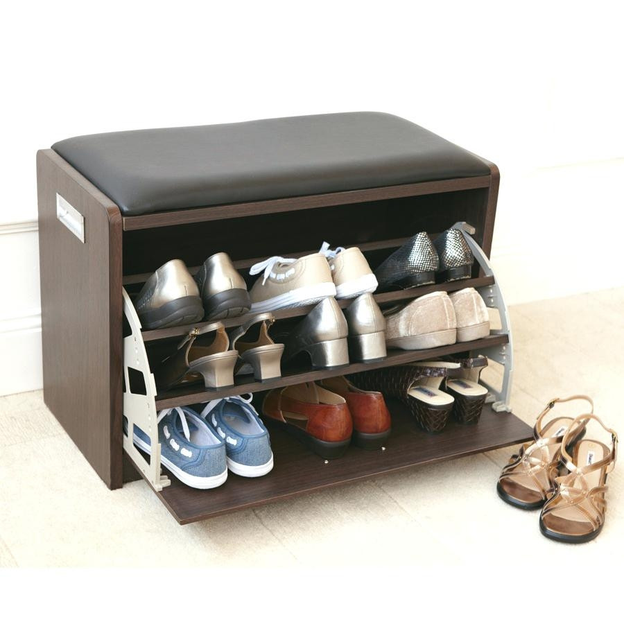 Best ideas about Entryway Shoe Rack . Save or Pin Small Bench With Shoe Storage Now.