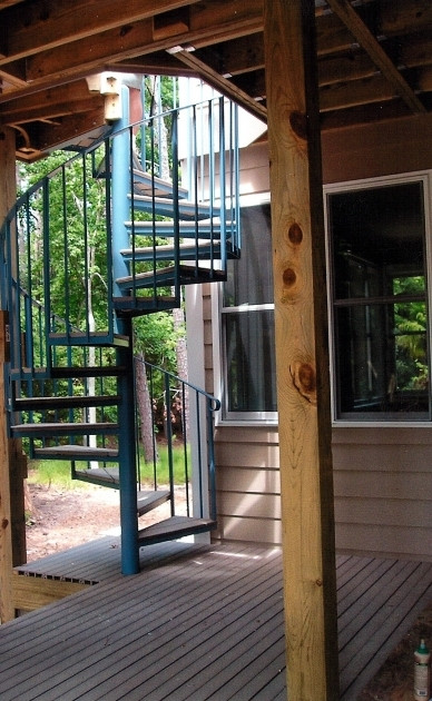 Best ideas about Exterior Spiral Staircase . Save or Pin Exterior Spiral Staircase Kits Stairs Design Ideas Now.