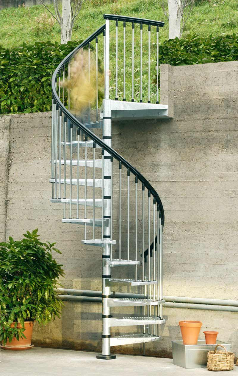 Best ideas about Exterior Spiral Staircase . Save or Pin Exterior Spiral Staircase Making It Last for Years Now.