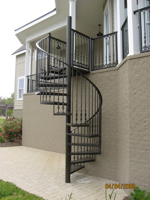 Best ideas about Exterior Spiral Staircase . Save or Pin Outdoor Spiral Stairs Big Natural Porn Star Now.