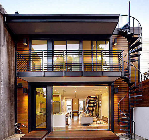 Best ideas about Exterior Spiral Staircase . Save or Pin Make a Statement with Spiral Stairs Now.