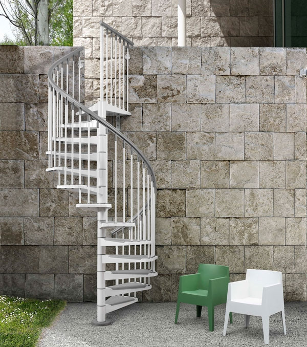 Best ideas about Exterior Spiral Staircase . Save or Pin Outdoor spiral staircase designs to plement the house Now.