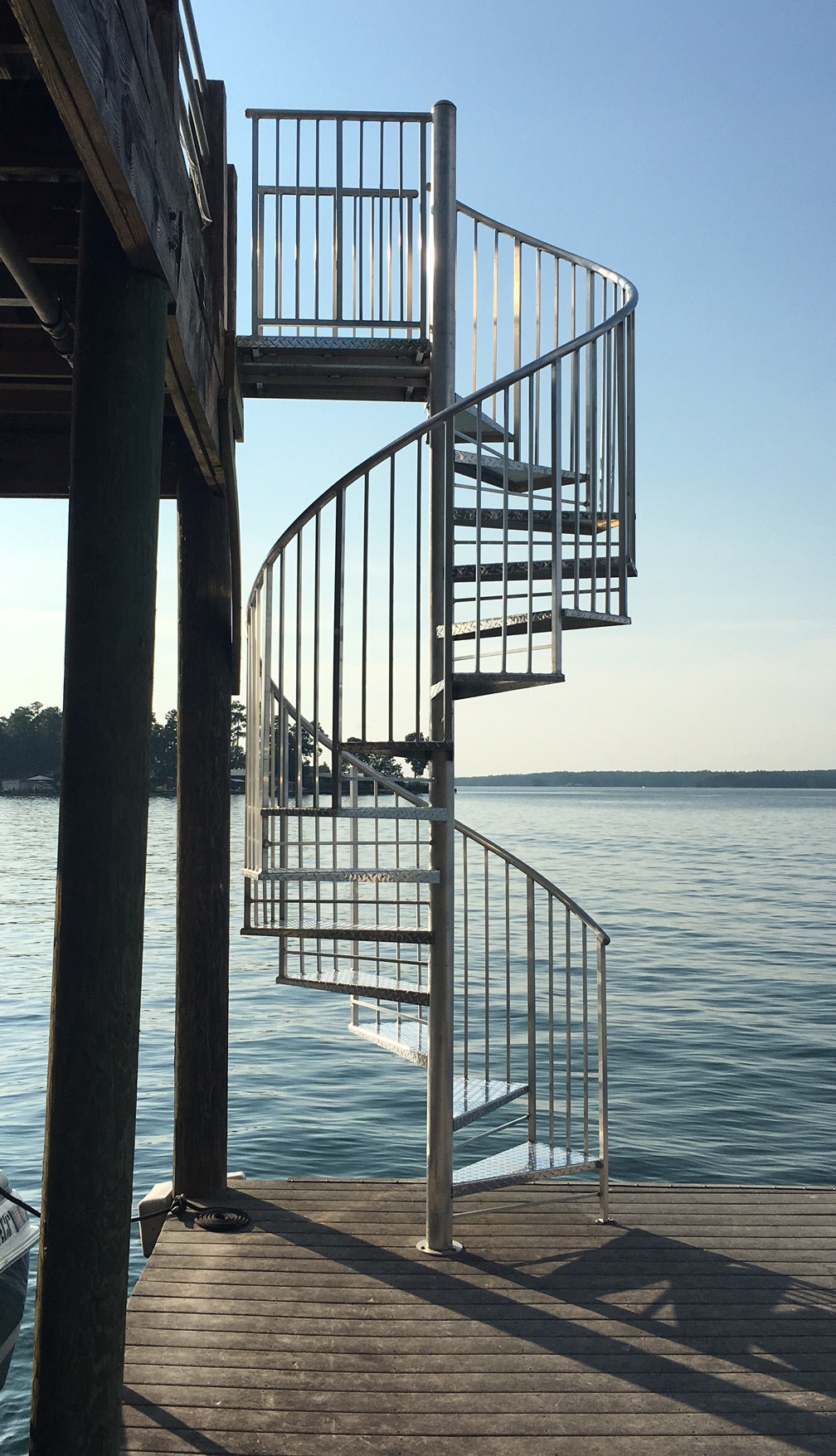 Best ideas about Exterior Spiral Staircase . Save or Pin Practical Metal Spiral Staircase — Railing Stairs and Now.