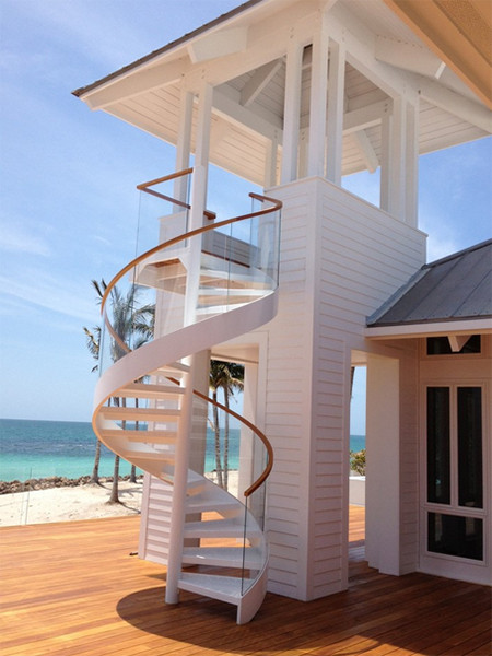 Best ideas about Exterior Spiral Staircase . Save or Pin 15 Spiral Staircases That Pave The Way To Cloud Nine Now.