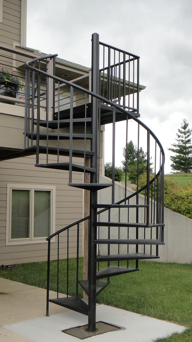 Best ideas about Exterior Spiral Staircase . Save or Pin Buy Durable Exterior Spiral Stairs Salter Stair With Now.