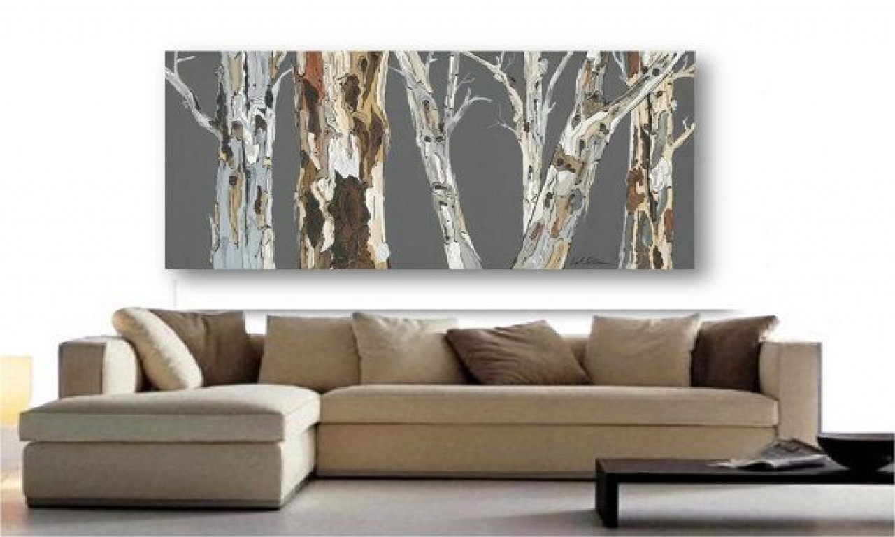 Best ideas about Extra Large Wall Art . Save or Pin Etsy Extra Wall Art Print Tree Rolled Canvas Pastels Now.