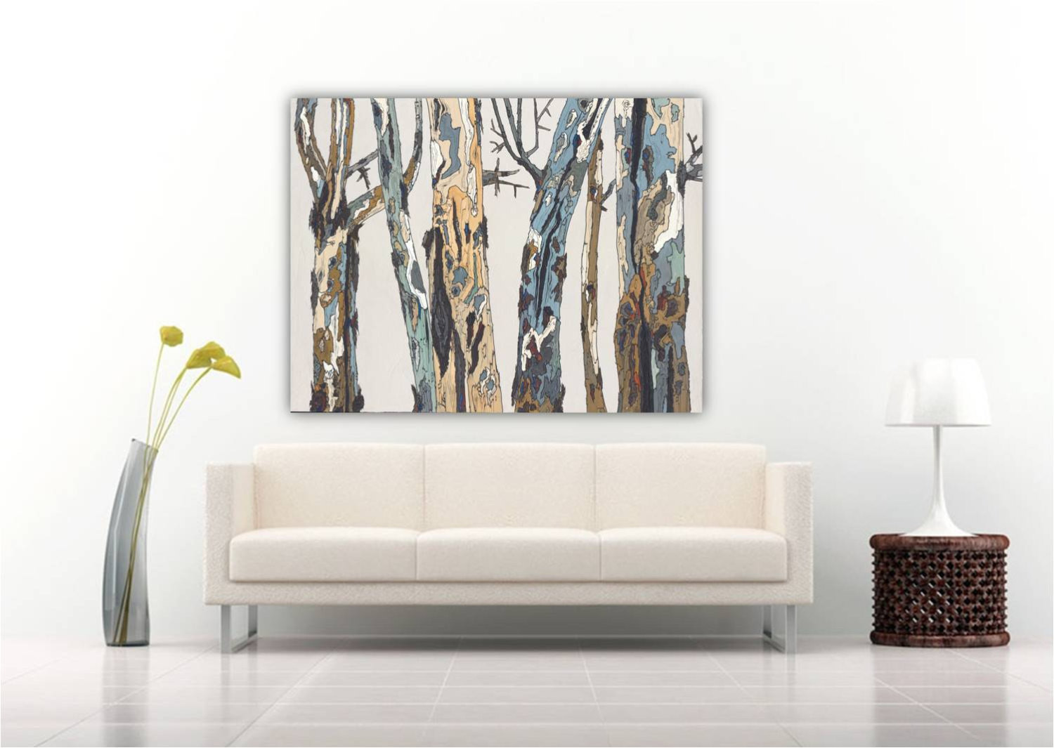 Best ideas about Extra Large Wall Art . Save or Pin Huge art extra large wall art oversized canvas print white Now.