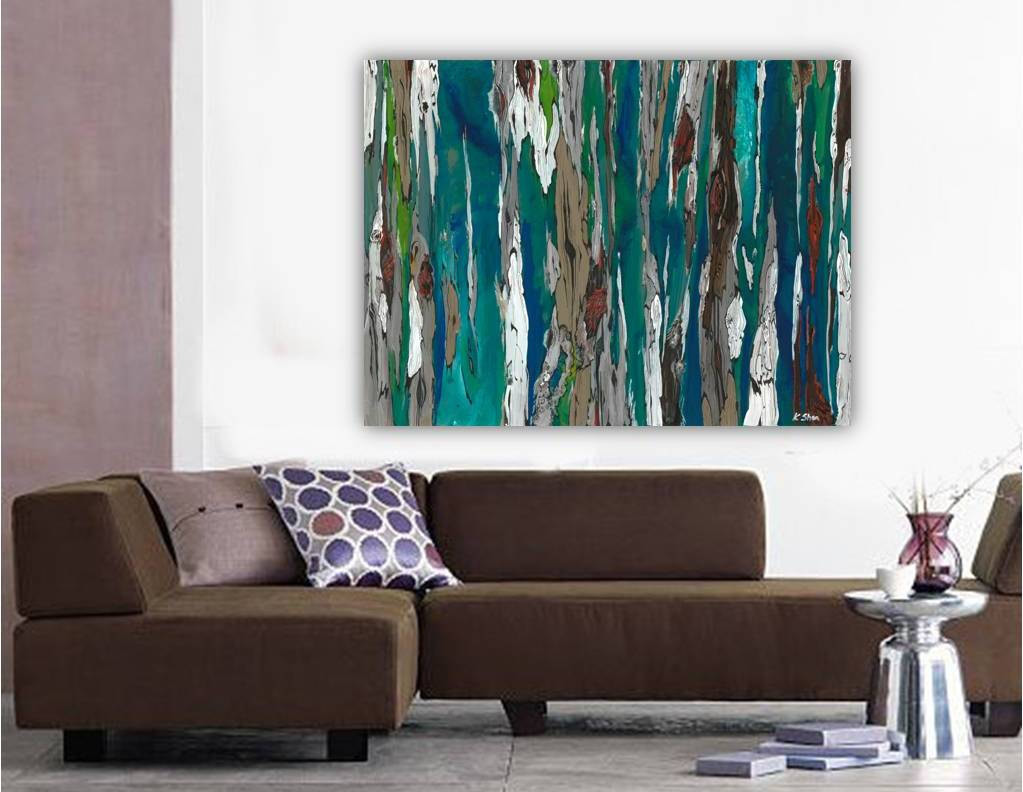Best ideas about Extra Large Wall Art . Save or Pin Extra LARGE Wall art ORIGINAL landscape painting very large Now.