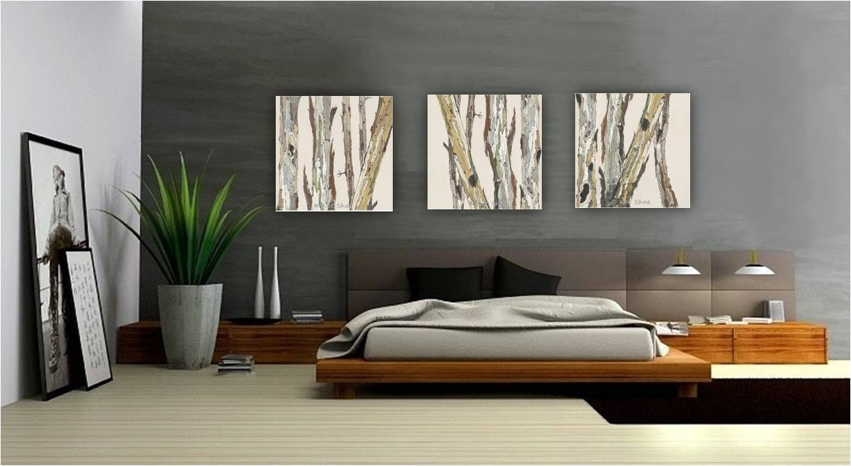 Best ideas about Extra Large Wall Art . Save or Pin extra large wall art oversized triptych set dining room Now.
