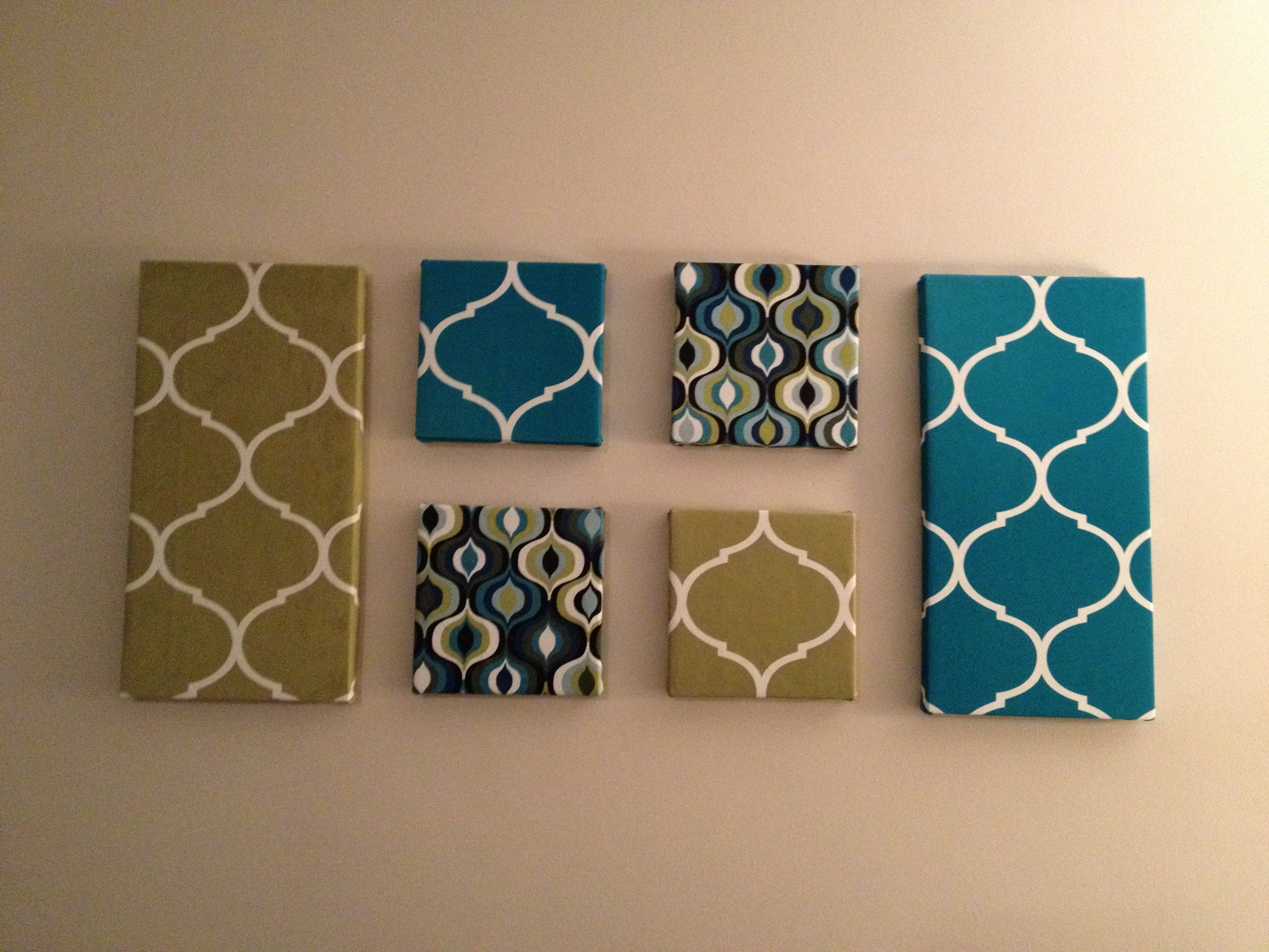 Best ideas about Fabric Wall Art . Save or Pin 15 Ideas of Fabric Wall Art Canvas Now.