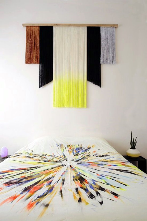 Best ideas about Fabric Wall Art . Save or Pin 40 Ridiculously Artistic Fabric Wall Art Ideas Now.