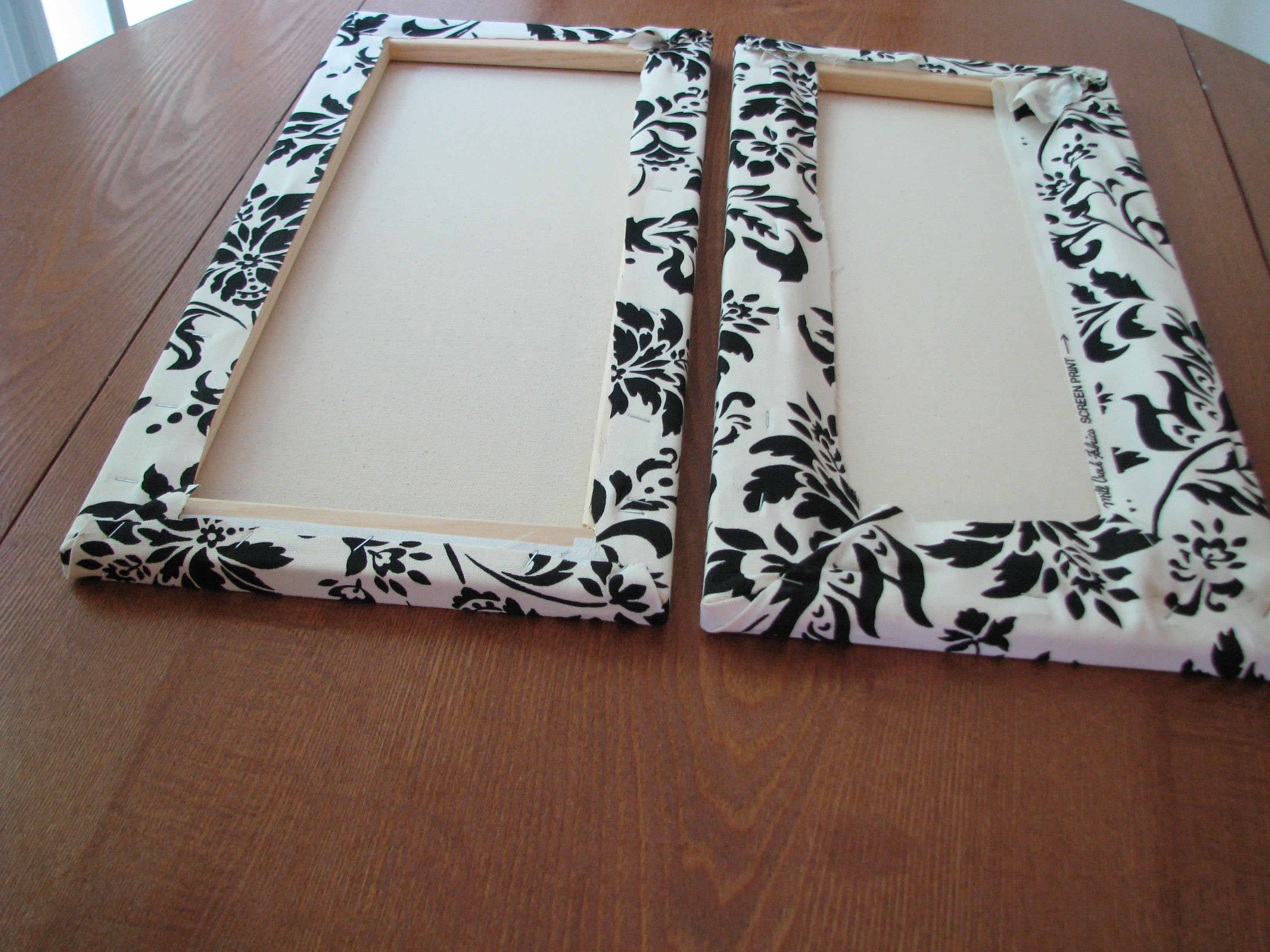 Best ideas about Fabric Wall Art . Save or Pin Make Your Own Canvas Wall Hangings Now.