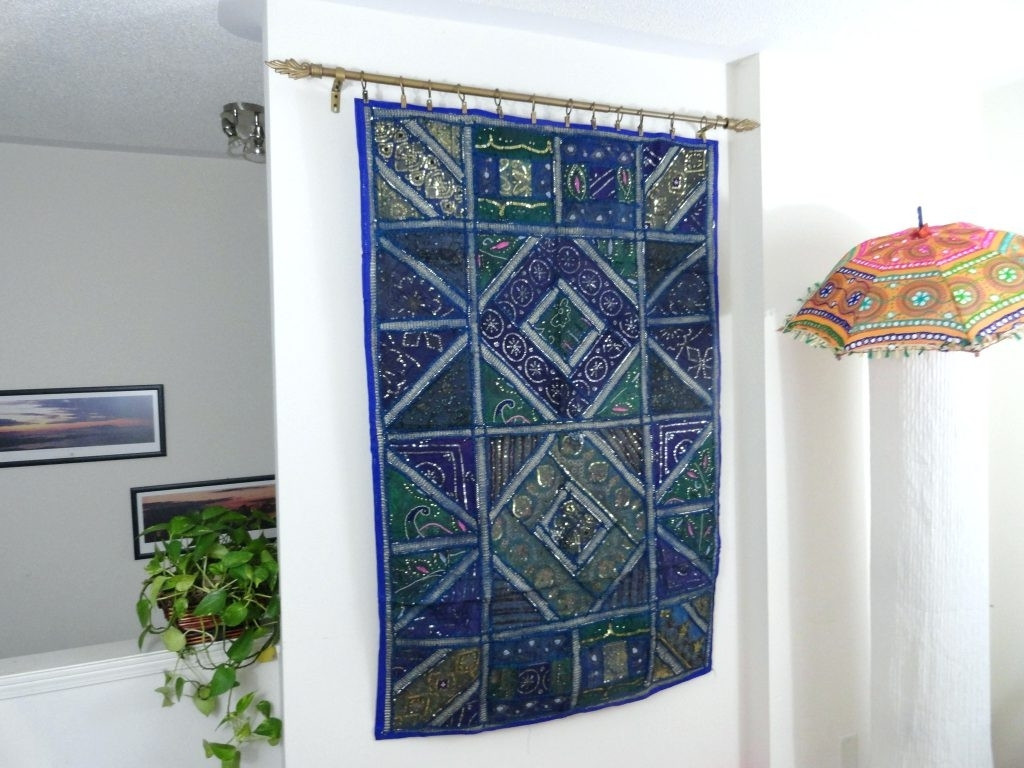 Best ideas about Fabric Wall Art . Save or Pin 15 Ideas of Diy Fabric Flower Wall Art Now.