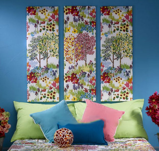 Best ideas about Fabric Wall Art . Save or Pin Quick & Easy Fabric Wall Art Home Decor Ideas DIY Ready Now.