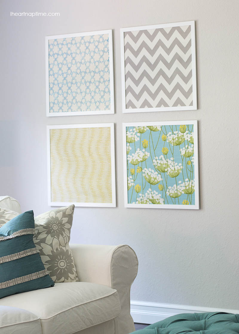 Best ideas about Fabric Wall Art . Save or Pin DIY Fabric Wall Art Ideas and Inspirations Now.