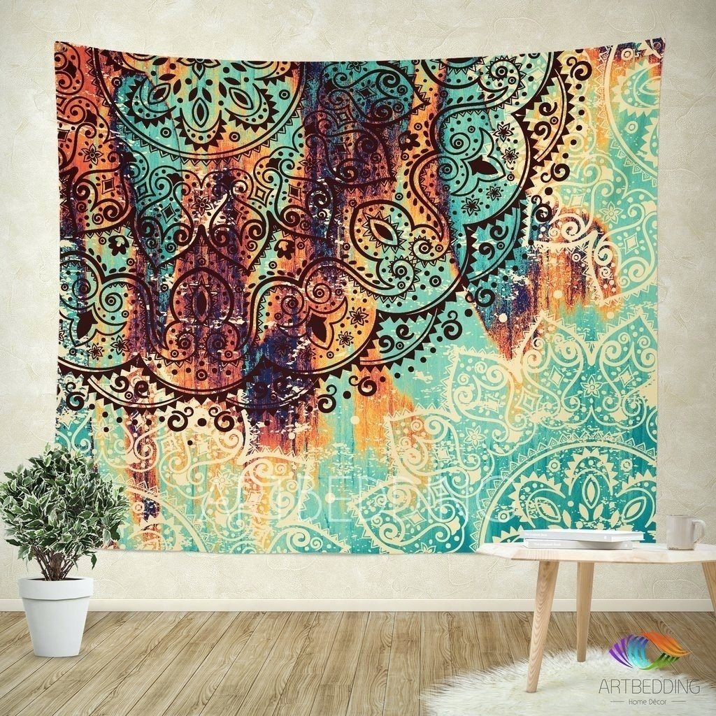 Best ideas about Fabric Wall Art . Save or Pin 15 Best Collection of Fabric For Wall Art Hangings Now.