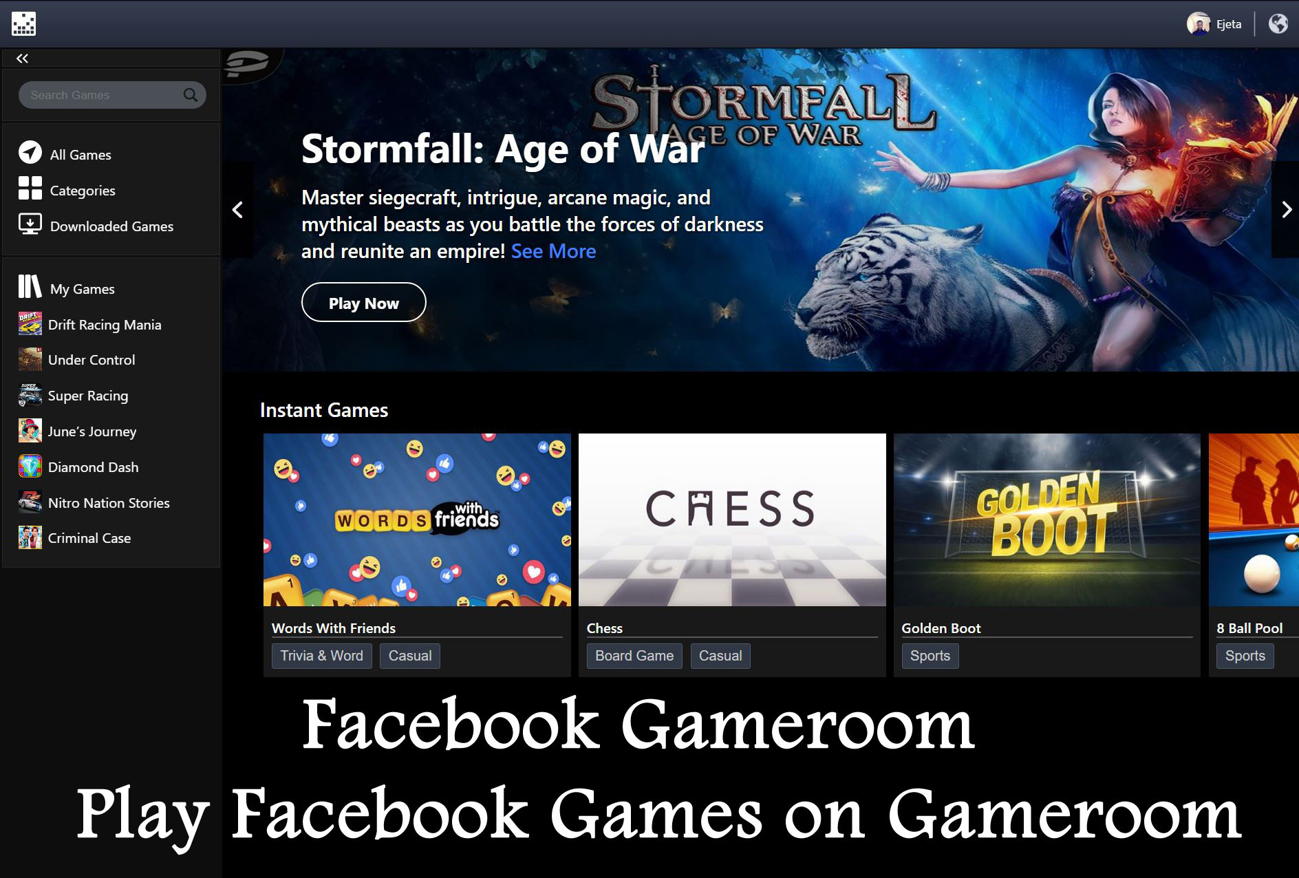 Top 20 Facebook Game Room for android - Best Collections