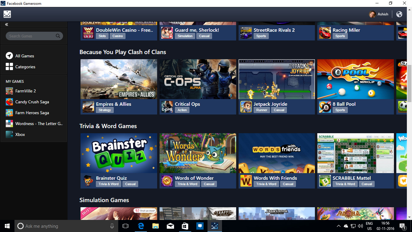 Best ideas about Facebook Game Room . Save or Pin ficially Announces Gameroom its PC Steam Now.